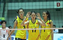 Giải bóng chuyền nữ châu Á: ĐT nữ Việt Nam thi đấu ấn tượng trước Hàn Quốc