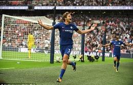 Marcos Alonso bùng nổ, Chelsea khuất phục Tottenham trên sân nhà mới Wembley