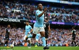VIDEO Man City 5-0 Crystal Palace: Hiệp 2 bùng nổ của hàng công