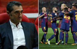 HLV Valverde đang vận hành hoàn hảo đội hình của Barcelona