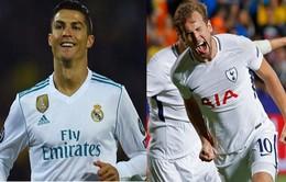 Lịch thi đấu Champions League rạng sáng mai (18/10): Real tiếp đón Tottenham, Man City rửa hận Napoli
