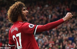 VIDEO Man Utd 4-0 Crystal Palace: Lukaku lại nổ súng nhưng Fellaini xuất sắc nhất
