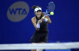 Vòng 1 giải quần vợt Trung Quốc mở rộng: Muguruza bất ngờ dừng bước
