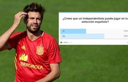 Pique tuyên bố tiếp tục thi đấu cho ĐT Tây Ban Nha, CĐV phẫn nộ