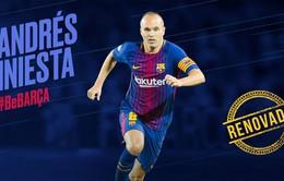 Ký hợp đồng trọn đời, Iniesta quyết cống hiến đến sức cùng lực kiệt cho Barcelona