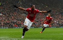 """Mourinho đã rỉ tai Martial """"bí kíp"""" gì để giúp Man Utd giành chiến thắng?"""
