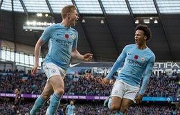 Man City hạ gục Arsenal nhờ 2 bàn thắng gây tranh cãi