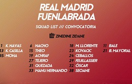 Real Madrid sử dụng một loạt cầu thủ vô danh ở Cúp Nhà Vua