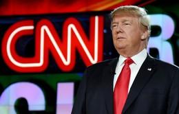 Donald Trump công khai chỉ trích CNN đưa tin sai sự thật
