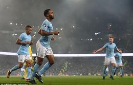 Thắng Tottenham 4-1, Man City bỏ xa Man Utd 14 điểm trên BXH Ngoại hạng Anh