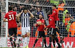 VIDEO: Tổng hợp diễn biến trận đấu West Brom 1-2 Man Utd