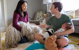 """Ông chủ Facebook """"đốn tim"""" mọi người về thông báo có con gái"""