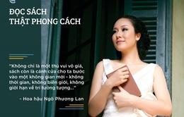 """""""Đọc sách thật phong cách"""" cùng người nổi tiếng lần đầu tiên ở Việt Nam"""