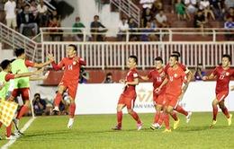 Vòng 1 V.League 2017 chiều 8/1: Hải Phòng 0-1 CLB Sài Gòn, TP HCM 1-1 QNK Quảng Nam, B. Bình Dương 0-1 S. Khánh Hòa