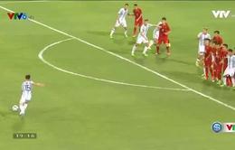 VIDEO Siêu phẩm sút phạt giúp U20 Argentina mở tỷ số trước U22 Việt Nam