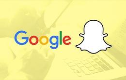 Google sẽ chi 30 tỷ USD để thâu tóm Snapchat?