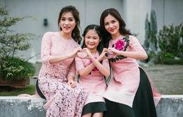 Công thức Đẹp: Bật mí cách chọn áo dài đôi cho mẹ và bé