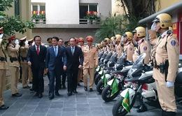 CSGT Hà Nội ra quân đảm bảo thông suốt, an toàn cho người dân quay lại Thủ đô sau kỳ nghỉ Tết