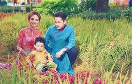 Gia đình Hoa hậu Diễm Hương hạnh phúc đi du xuân