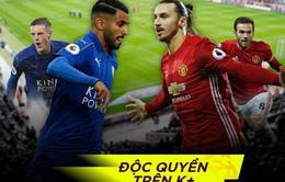 Lịch trực tiếp bóng đá ngày 5/2: Man Utd đối đầu Leicester, trận đấu của Real bị hoãn