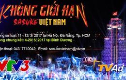 Thể lệ tham dự Không giới hạn - Sasuke Việt Nam mùa 3