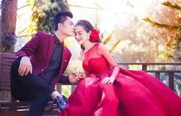 Lâm Khánh Chi khoe bộ ảnh cưới lãng mạn cùng bạn trai ở Đà Lạt