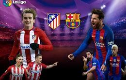 Lịch trực tiếp bóng đá ngày 26/2: Đại chiến Atletico Madrid – Barcelona