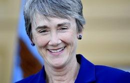 Bà Heather Wilson tuyên thệ nhậm chức Bộ trưởng Không quân Mỹ