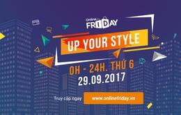 Sắp diễn ra ngày mua sắm trực tuyến Online Friday 2017