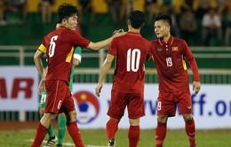 Đài Truyền hình Việt Nam trực tiếp giải bóng đá giao hữu quốc tế M-150 Cup 2017