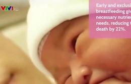 """4 bước chính để """"cái ôm đầu tiên"""" là sự khởi đầu mạnh khỏe cho trẻ"""