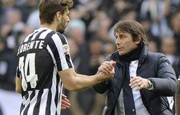 """DIego Costa chưa đi, Conte đã sắp có chân sút """"mới mà cũ"""""""