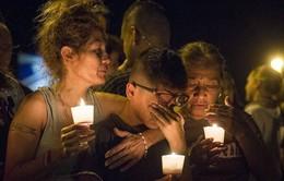 Người dân Mỹ cầu nguyện cho nạn nhân vụ xả súng ở Texas