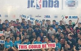 Lễ khai mạc chương trình phát triển tài năng bóng rổ Jr NBA