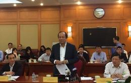 Tổ công tác của Thủ tướng làm việc với Bộ Khoa học và Công nghệ