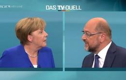 Hai ứng viên Thủ tướng Đức tranh luận trực tiếp trên truyền hình