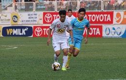 Vòng 9 V.League 2017: CLB HAGL 0-2 Sanna Khánh Hòa, SHB Đà Nẵng 3-3 CLB TP Hồ Chí Minh