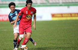 Tuấn Anh chưa thể thi đấu cho CLB HAGL trong trận gặp FLC Thanh Hóa