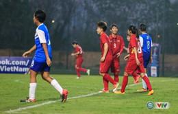 VIDEO: Tổng hợp hiệp 1 trận ĐT nữ Việt Nam - ĐT nữ Singapore