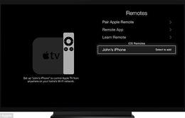 Điều khiển tivi bằng giọng nói qua iPad