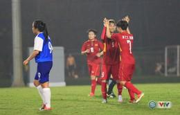 VIDEO: Tổng hợp trận đấu ĐT nữ Việt Nam 8-0 ĐT nữ Singapore