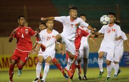 U19 Quốc tế 2017: Đội tuyển chọn U19 Việt Nam thắng kịch tính U19 Myanmar