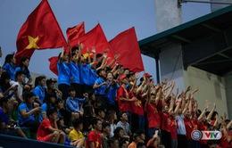 ĐT nữ Việt Nam và sức mạnh tinh thần từ khán giả