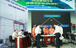 Diễn tập cứu nạn hàng không năm 2017 tại Kiên Giang