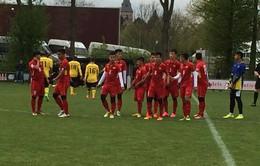 VIDEO: U20 Việt Nam giành chiến thắng ấn tượng 4-0 trước U21 Roda FC