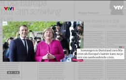 """Bầu cử vòng 2 Hạ viện Pháp: """"Nóng"""" trên mặt báo châu Âu"""