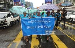 Myanmar tuần hành vì hòa bình