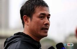 HLV Hữu Thắng chia sẻ lý do gọi 11 cầu thủ của HAGL lên tập trung ĐT U22 Việt Nam