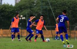 VIDEO: ĐT U22 Việt Nam tập buổi đầu tiên chuẩn bị cho trận đấu với ĐT U20 Argentina