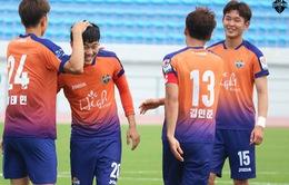 Hôm nay (17/5), Xuân Trường đá trận ra mắt chính thức cho Gangwon FC